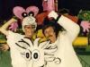 Marcela Augustova et Rudolf Papezik présente  Jeux sans frontières 1994 à Hradec Kralové (République tchèque)