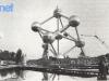 Une vue de l'esplanade où se sont déroulés les Jeux de Bruxelles 1979. Au premier plan, la pièce d'eau qui a servi de décor pour les jeux 2 et 8.
