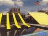 """Le plateau des """"Jeux sans frontières"""" 1989 à Bruxelles (Belgique)"""