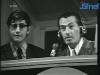 Camillo Felgen dans la cabine commentateur de l'ARD