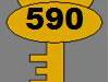 Clé n°590