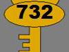 Clé n°732