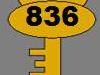 Clé n°836