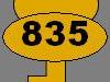 Clé n°835