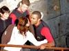 """Eva Longoria et Tony Parker dans """"Fort Boyard"""" le 27 juin 2009"""