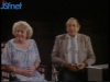 """Gennaro Olivieri en 1985 sur le plateau d'""""Il était une fois la télé"""" (RTBF) avec Sylvie Rigot et Paule Herreman"""