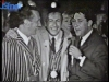 Gennaro Olivieri en 1968 à Bruxelles avec Guido Pancaldi et Jean-Claude Menessier