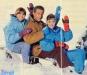 Isabelle Mir, Georges Beller et Daniela Lumbroso (hiver 1992)
