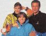 Daniela Lumbroso, Isabelle Mir et Georges Beller (hiver 1992)