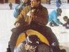 Georges Beller et Daniela Lumbroso à Santa Caterina Valfurva (hiver 1992)