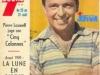 """Guy Lux en couverture de """"Télé 7 jours"""" en 1962."""