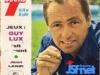 """Guy Lux en couverture de """"Télé 7 jours"""" en 1965."""