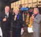 """En 1987, Guy Lux présente """"Intercontinents"""" avec Léon Zitrone et Simone Garnier sur TF1."""