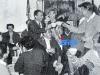 """En 1962, l'équipe d'""""Intervilles"""" fête le succès à Concarneau."""