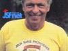 """Guy Lux à Antibes pour """"Jeux sans frontières"""" 1980."""