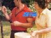 Guy Lux et sa femme Paulette.