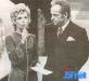 Décembre 1971. Guy Lux et Sophie Darel.