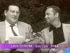 """En 1964, Guy Lux avec Léon Zitrone, son complice d'""""Intervilles"""""""