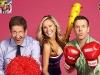 H. G. Nelson, Charli Robinson et Brad McEwan (It's a knockout 2011, Australie)