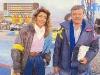 """Marie-Ange Nardi et Fabrice présentent """"Jeux sans frontières"""" 1988 aux Saisies (France)"""