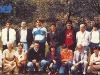 """L'équipe belge de Pepinster aux """"Jeux sans frontières"""" 1988 aux Saisies (France)"""