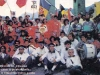 """Les équipes des """"Jeux sans frontières"""" 1988 à Viana do Castelo (Portugal)"""