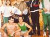 L'équipe portugaise de Vila Real et son coach, Rui Pinheiro (Jeux sans frontières 1994 à Batalha, Portugal)