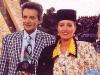 Eladio Climaco et Cristina Lebre présentent Jeux sans frontières 1994 à Batalha (Portugal)