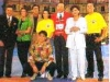 Les présentateurs présents à Stupinigi (Italie) en 1996