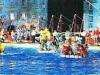 Jeux sans frontières 1998 à Trento (Italie) : jeu des Radeaux