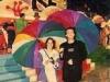 Jean-Luc Reichmann et Christelle Ballestrero (Jeux sans frontières 1998 à Trento, Italie)