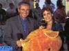 Les présentateurs français : Nelson Monfort et Fabienne Egal