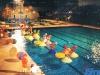 Le plateau installé à la piscine nationale de Malte (Jeux sans frontières 1994)