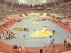 Le plateau des Jeux sans frontières 1976 à Milan (Italie)