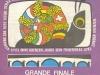 """Affiche de la finale des """"Jeux sans frontières"""" 1980 à Namur (Belgique)"""