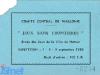 """Ticket d'entrée de la finale des """"Jeux sans frontières"""" 1980 à Namur (Belgique)"""