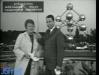 """Paule Herreman et Jean-Claude Menessier présentent """"Jeux sans frontières"""" 1967 à Bruxelles (Belgique)"""