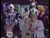 """Paule Herreman présente """"Jeux sans frontières"""" 1980 à Namur (Belgique). Ici avec Gennaro Olivieri."""