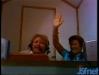 """Paule Herreman et Diane Lange pour la finale des """"Jeux sans frontières"""" 1982 à Urbino (Italie)"""