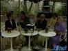 1985 : Au Festival du rire de Rochefort, Diane Lange, Michel Lemaire, André Lange et Paule Herreman entourent le présentateur