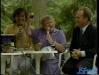 1985 : Au Festival du rire de Rochefort, Paule Herreman et Armand Dalem (maire de Rochefort) aux côtés du présentateur