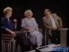 """1985 : Paule Herreman invitée de l'émission """"Il était une fois la télé"""". Ici avec Sylvie Rigot et Gennaro Olivieri."""