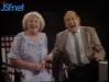 """1985 : Paule Herreman invitée de l'émission """"Il était une fois la télé"""". Ici avec Gennaro Olivieri."""