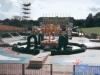 Le plateau de de Jeux sans frontières installé à Rhyl (Pays de Galles) en 1993