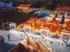 Le plateau de Jeux sans frontières installé à Rhyl (Pays de Galles) en 1993