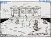 Le jeu du Taureau (Jeux sans frontières 1993 au Pays de Galles)