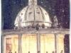 Le plateau installé à Rome (Italie)