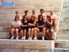 L'équipe italienne de Florence visite le stade Panathinaikon en marge des Jeux sans frontières 1993 à Athènes