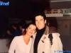 Caterina Ruggeri et Paolo Calissano à Cardiff (Pays de Galles) pour la finale de Jeux sans frontières 1994