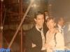 Luis de Matos et Caterina Ruggeri dans les coulisses de Jeux sans frontières 1995 à Vilamoura (Portugal)